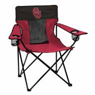 Oklahoma Sooners Elite Tailgating Chair