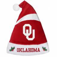 Oklahoma Sooners Santa Hat