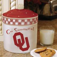 Oklahoma Sooners Gameday Cookie Jar