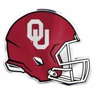 Oklahoma Sooners Helmet Car Emblem