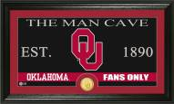 Oklahoma Sooners Man Cave Bronze Coin Panoramic Photo Mint