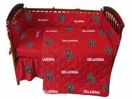 Oklahoma Sooners NCAA Baby Crib Set