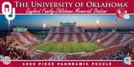 Oklahoma Sooners Panoramic Stadium Puzzle