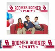 Oklahoma Sooners Party Banner