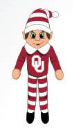 Oklahoma Sooners Plush Elf