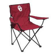 Oklahoma Sooners Quad Folding Chair