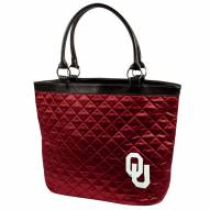 Oklahoma Sooners Quilted Tote Bag