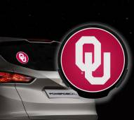 Oklahoma Sooners Light Up Power Decal