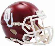 Oklahoma Sooners Riddell Speed Mini Replica Football Helmet