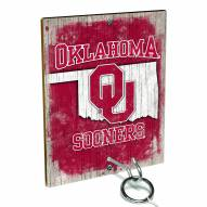 Oklahoma Sooners Ring Toss Game