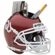 Oklahoma Sooners Schutt Football Helmet Desk Caddy