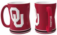 Oklahoma Sooners Sculpted Relief Coffee Mug