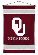 Oklahoma Sooners Sidelines Wall Hanging