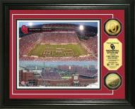Oklahoma Sooners Stadium 24KT Gold Coin Photomint