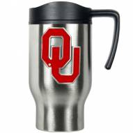 Oklahoma Sooners Stainless Steel Travel Mug