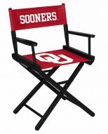 Oklahoma Sooners Table Height Director's Chair
