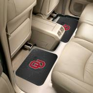 Oklahoma Sooners Vinyl 2-Piece Rear Floor Mats
