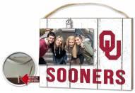 Oklahoma Sooners Weathered Logo Photo Frame