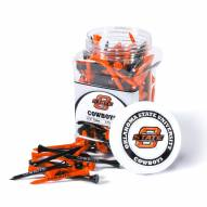 Oklahoma State Cowboys 175 Golf Tee Jar