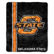 Oklahoma State Cowboys Jersey Sherpa Blanket