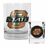 Oklahoma State Cowboys Rocks Glass & Shot Glass Set