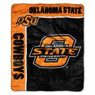 Oklahoma State Cowboys School Spirit Raschel Throw Blanket