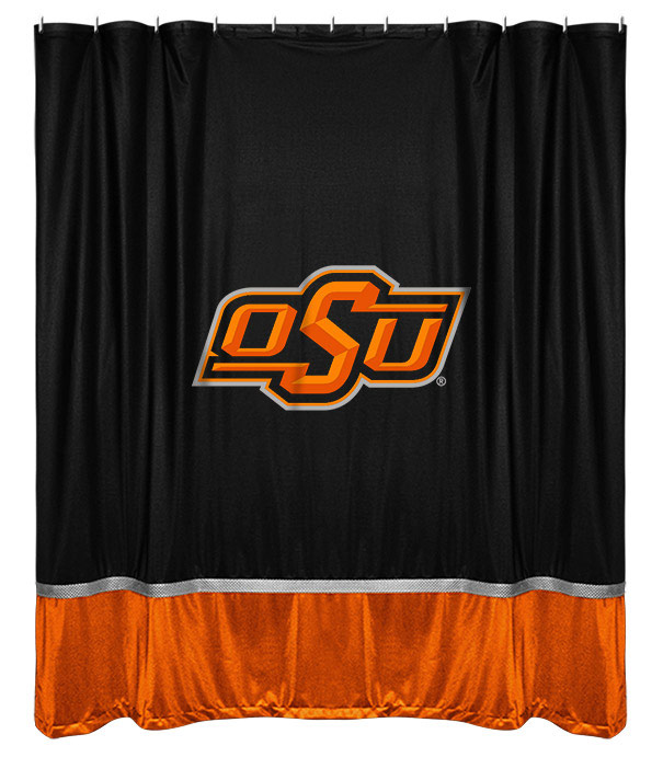 Oklahoma State Cowboys Sidelines Shower Curtain