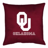 Oklahoma Sooners NCAA Locker Room Toss Pillow
