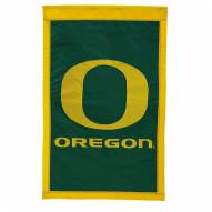 "Oregon Ducks 28"" x 44"" Double Sided Applique Flag"