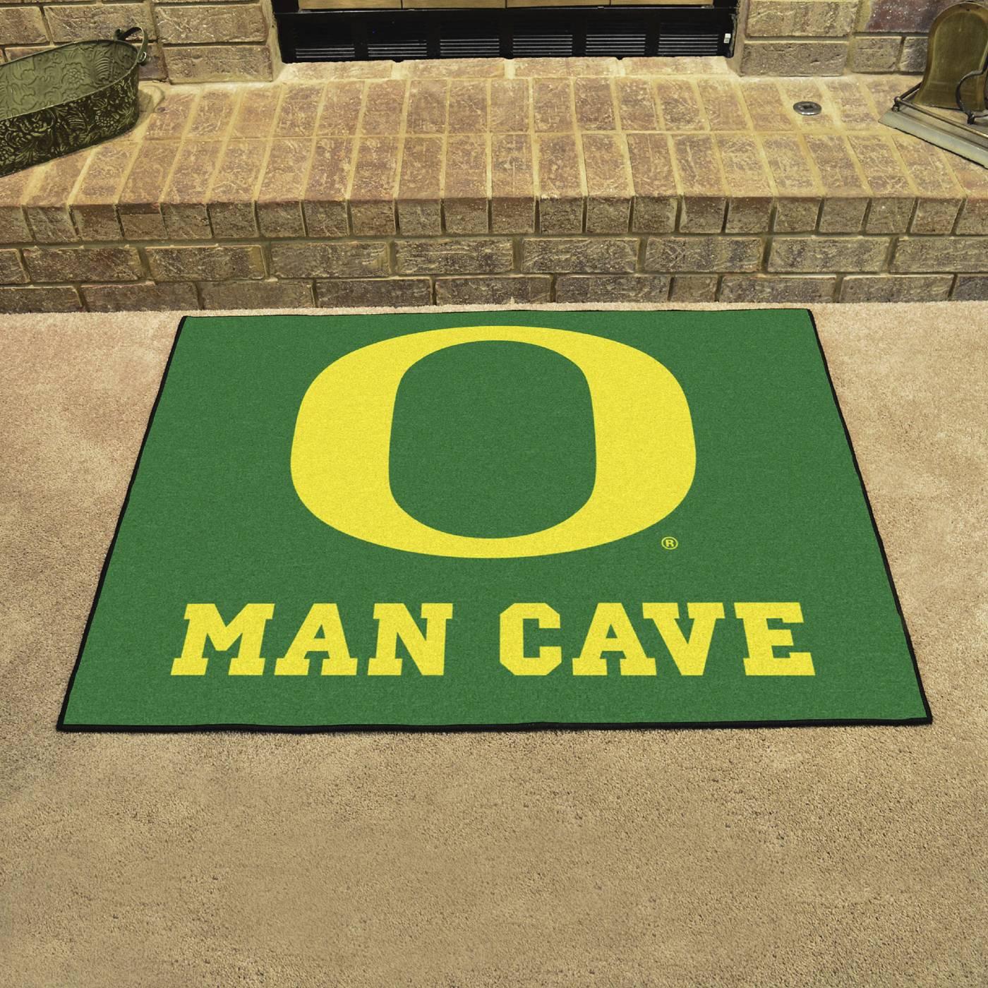 Oregon Ducks Man Cave All Star Rug