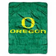 Oregon Ducks Micro Grunge Blanket