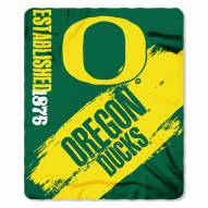Oregon Ducks Painted Fleece Blanket