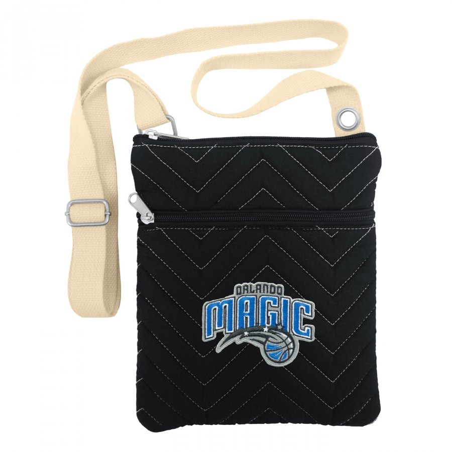Orlando Magic Chevron Stitch Crossbody Bag