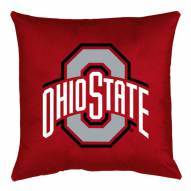 Ohio State Buckeyes NCAA Locker Room Toss Pillow