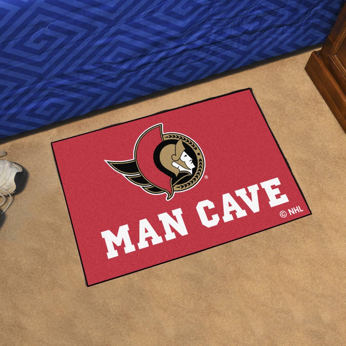 Man Cave Store Ottawa Tanger : Ottawa senators man cave starter mat