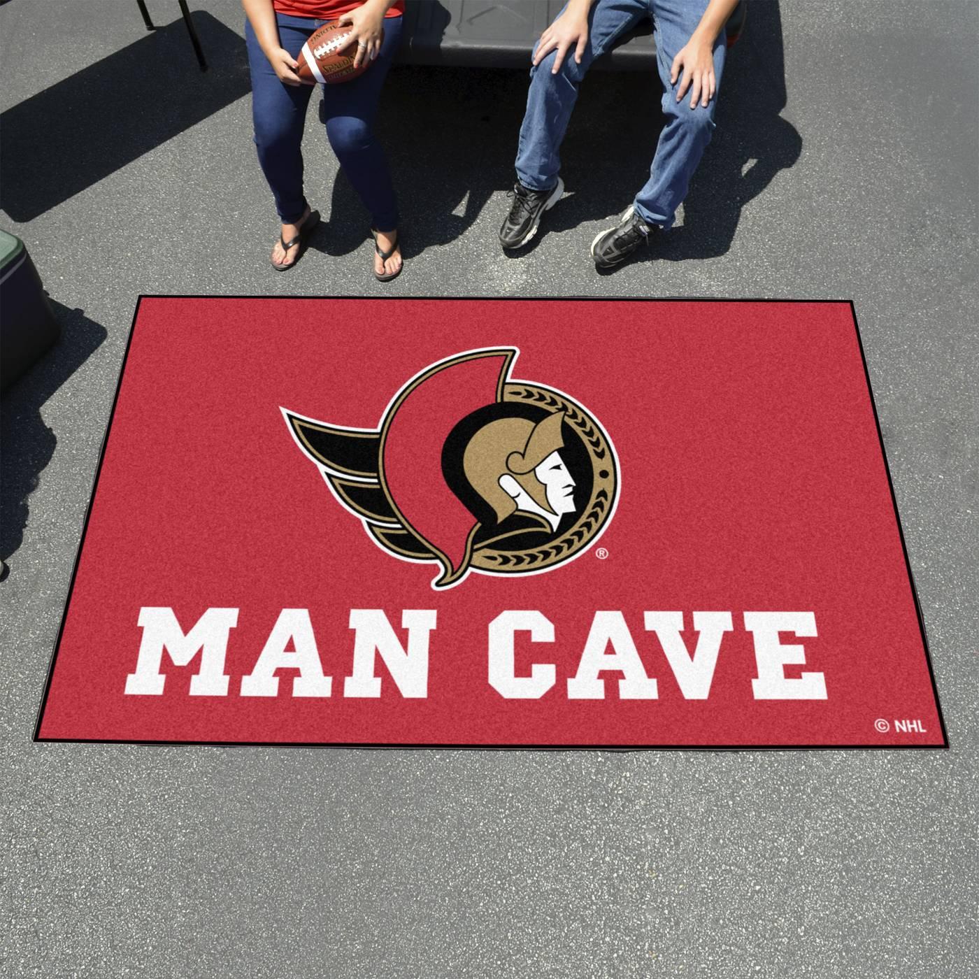 Man Cave Signs Ottawa : Ottawa senators man cave ulti mat rug