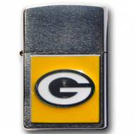 Green Bay Packers Large Emblem NFL Zippo Lighter