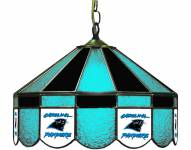 "Carolina Panthers NFL Team 16"" Diameter Stained Glass Pub Light"