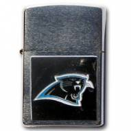 Carolina Panthers Large Emblem NFL Zippo Lighter