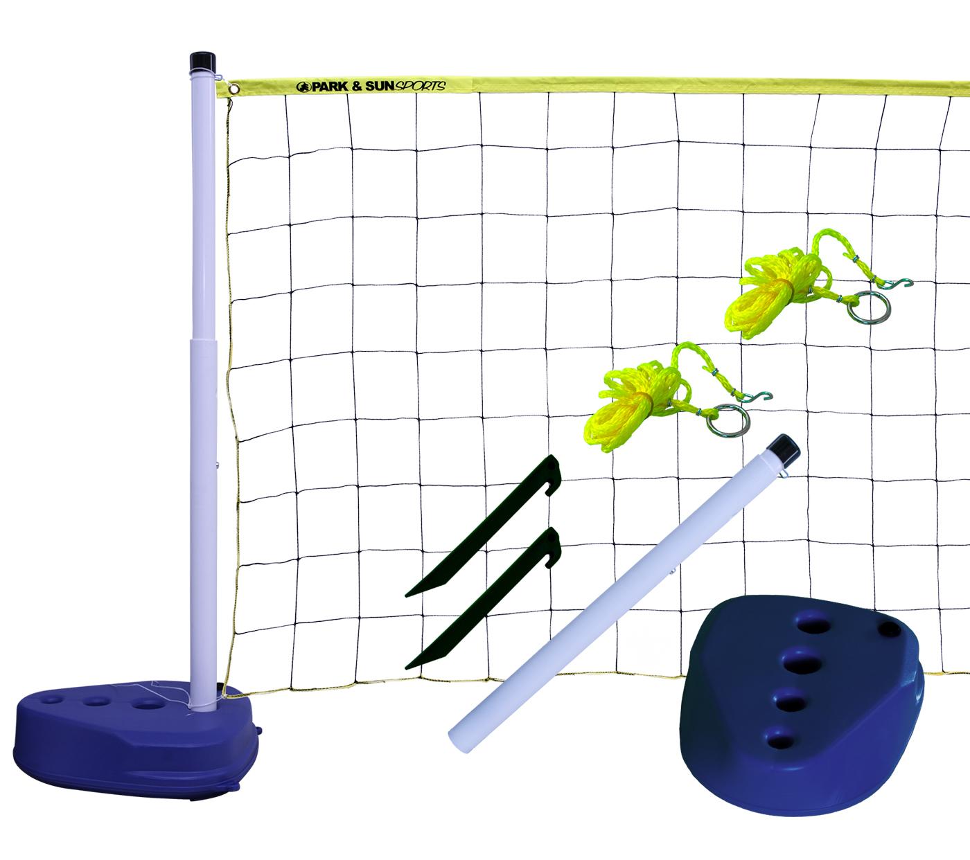 Backyard Volleyball Net Height : Park & Sun Aqua Volley Pool Volleyball Net Set