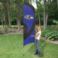 Baltimore Ravens NFL Tall Team Flag