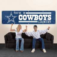 Dallas Cowboys NFL 8' Banner