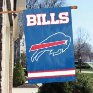 Buffalo Bills NFL Embroidered / Applique 2 - Sided Flag