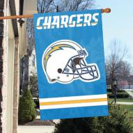 San Diego Chargers NFL Embroidered / Applique 2 - Sided Flag