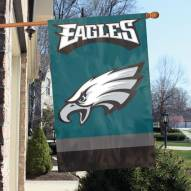 Philadelphia Eagles NFL Embroidered / Applique 2 - Sided Flag