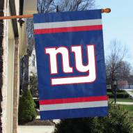 New York Giants NFL Embroidered / Applique 2 - Sided Flag