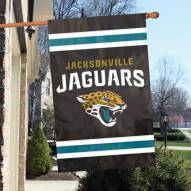 Jacksonville Jaguars NFL Embroidered / Applique 2 - Sided Flag
