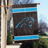 Carolina Panthers NFL Embroidered / Applique 2 - Sided Flag