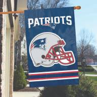 New England Patriots NFL Embroidered / Applique 2 - Sided Flag