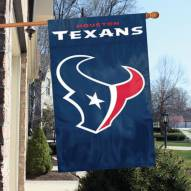 Houston Texans NFL Embroidered / Applique 2 - Sided Flag
